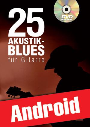 25 Akustik-Blues für Gitarre (Android)