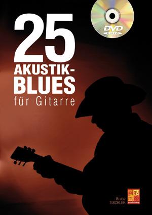 25 Akustik-Blues für Gitarre