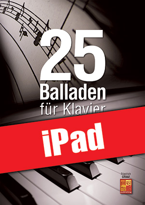 25 Balladen für Klavier (iPad)