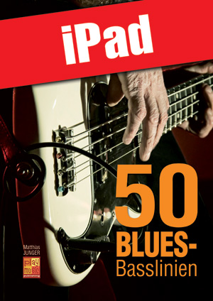 50 Blues-Basslinien (iPad)