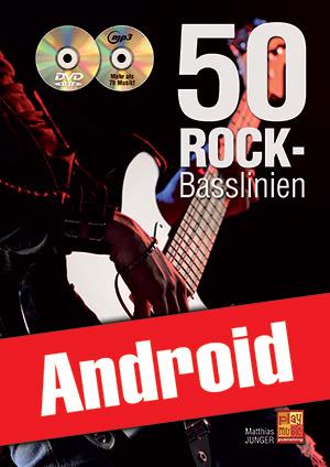 50 Rock-Basslinien (Android)
