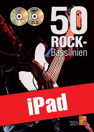 50 Rock-Basslinien (iPad)