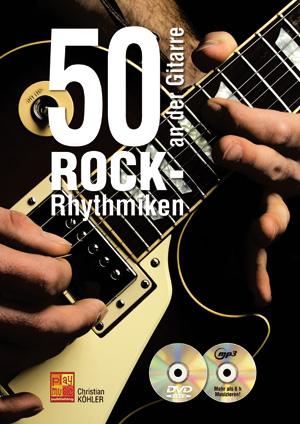 50 Rock-Rhythmiken an der Gitarre