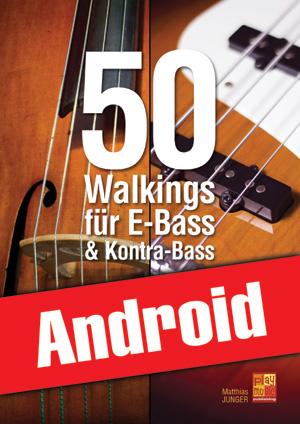 50 Walkings für E-Bass & Kontra-Bass (Android)