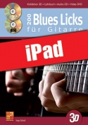 200 Blues Licks für Gitarre in 3D (iPad)