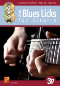 200 Blues Licks für Gitarre in 3D