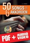 50 Songs mit 6 Akkorden (pdf + mp3 + videos)