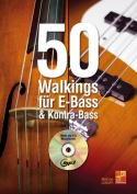 50 Walkings für E-Bass & Kontra-Bass