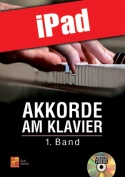 Akkorde am Klavier - 1. Band (iPad)