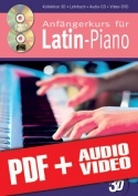 Anfängerkurs für Latin-Piano in 3D (pdf + mp3 + videos)