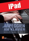 Arpeggien am Klavier (iPad)