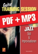 Guitar Training Session - Jazz - Soli & Improvisationen (pdf + mp3)