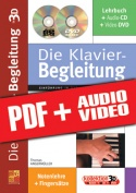 Die Klavier-Begleitung in 3D (pdf + mp3 + videos)