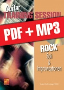Guitar Training Session - Rock - Soli & Improvisationen (pdf + mp3)