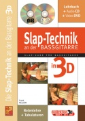 Die Slap-Technik an der Bassgitarre in 3D