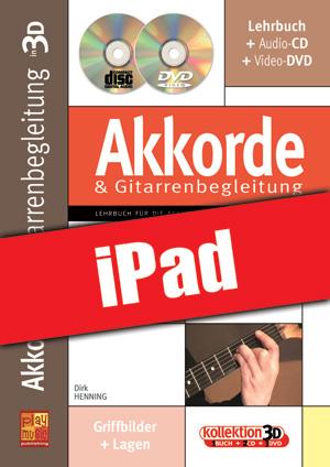 Akkorde & Gitarrenbegleitung in 3D (iPad)