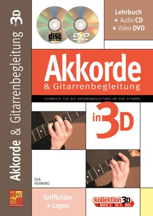 Akkorde & Gitarrenbegleitung in 3D
