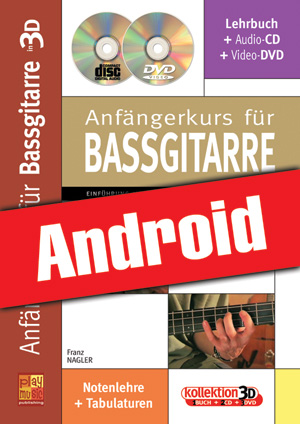 Anfängerkurs für Bassgitarre in 3D (Android)