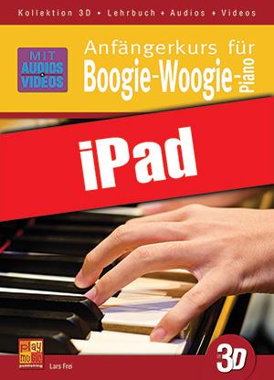 Anfängerkurs für Boogie-Woogie-Piano in 3D (iPad)