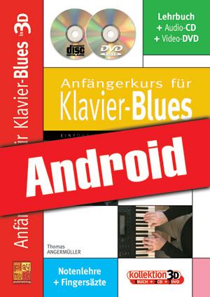 Anfängerkurs für Klavier-Blues in 3D (Android)