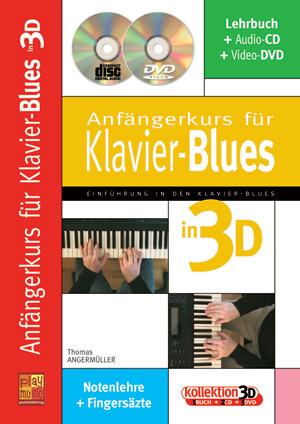 Anfängerkurs für Klavier-Blues in 3D