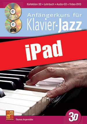 Anfängerkurs für Klavier-Jazz in 3D (iPad)