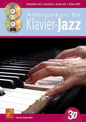 Anfängerkurs für Klavier-Jazz in 3D
