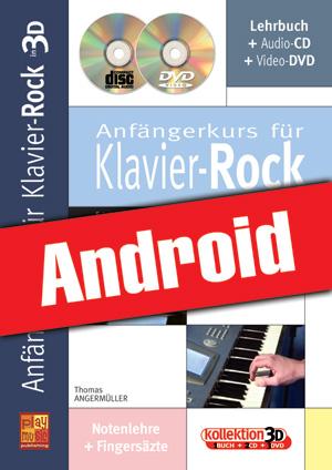 Anfängerkurs für Klavier-Rock in 3D (Android)