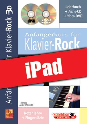 Anfängerkurs für Klavier-Rock in 3D (iPad)