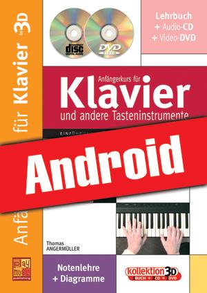 Anfängerkurs für Klavier in 3D (Android)