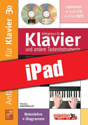 Anfängerkurs für Klavier in 3D (iPad)