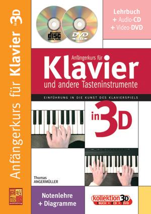 Anfängerkurs für Klavier in 3D