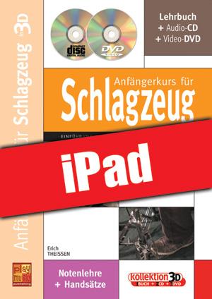 Anfängerkurs für Schlagzeug in 3D (iPad)