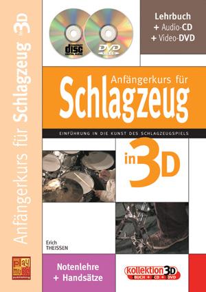 Anfängerkurs für Schlagzeug in 3D