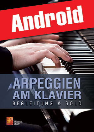Arpeggien am Klavier (Android)