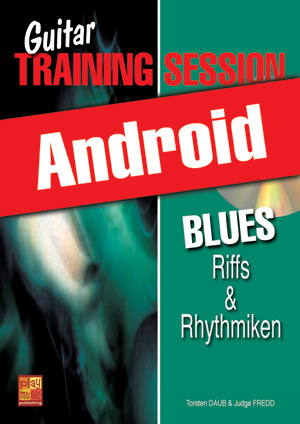 Guitar Training Session - Blues - Riffs & Rhythmiken (Android)