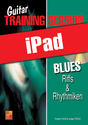 Guitar Training Session - Blues - Riffs & Rhythmiken (iPad)