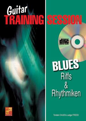Guitar Training Session - Blues - Riffs & Rhythmiken