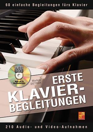 Erste Klavier-Begleitungen