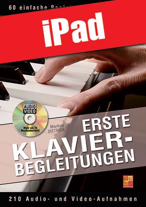 Erste Klavier-Begleitungen (iPad)