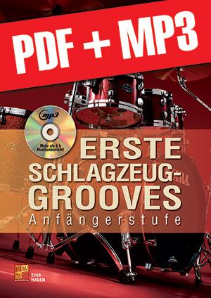 Erste Schlagzeug-Grooves (pdf + mp3)