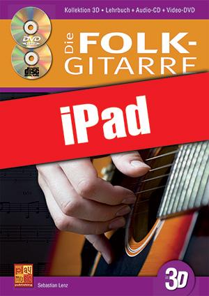 Die Folk-Gitarre in 3D (iPad)