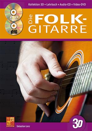 Die Folk-Gitarre in 3D