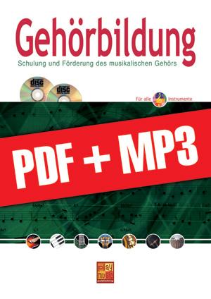 Gehörbildung - Bassgitarre (pdf + mp3)