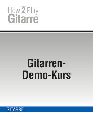 Gitarren-Demo-Kurs
