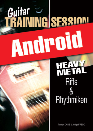Guitar Training Session - Heavy Metal - Riffs & Rhythmiken (Android)