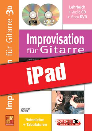 Improvisation für Gitarre in 3D (iPad)