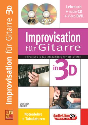 Improvisation für Gitarre in 3D