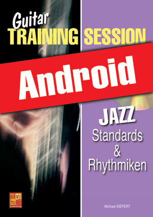 Guitar Training Session - Jazz - Standards & Rhythmiken (Android)