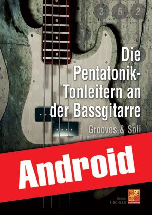 Die Pentatonik-Tonleitern an der Bassgitarre (Android)